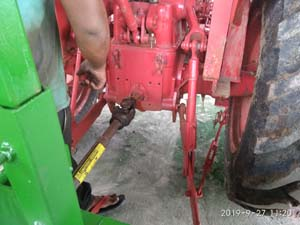 F16 attaching to Tractor via pto shaft