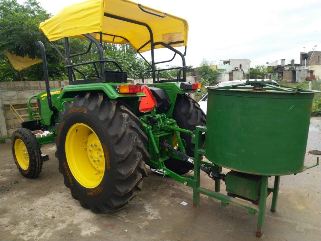 Concrete Pan mixer tractor