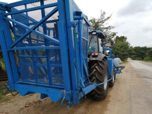 Sugarcane harvester F17