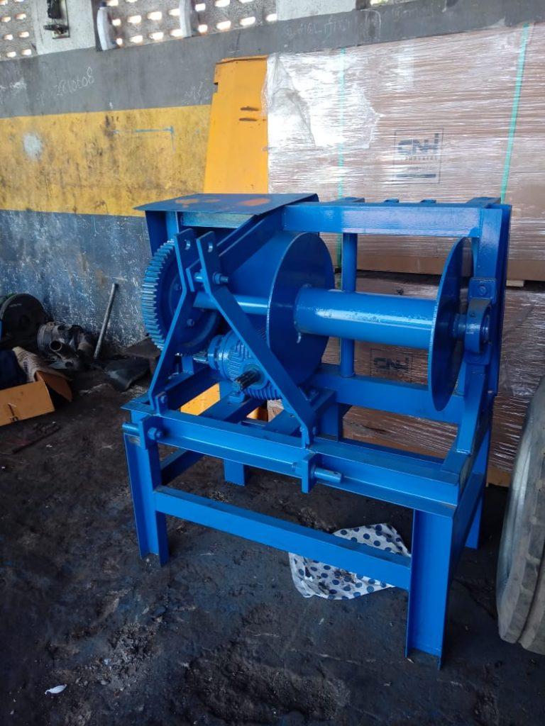 Tractor PTO winch