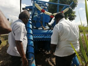 Sugarcane harvester Tamil Nadu